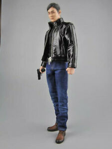 In-stock-1-6-Scale-Toy-Center-Spy-s-Leather-Clothing-Suit