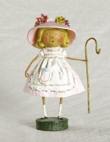 33163 Little Bo Peep Lori Mitchell Folk Art Figurine Nursery Rhyme Fairy Tale