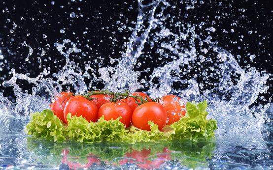 Splash Crédence de cuisine miroir verre vers Dimension salat