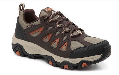 Skechers Terrabite Trail Brown Men's Hiking shoes Memory Foam Sneakers 51844 NEW