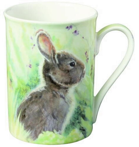"Meadow/""Ostern*Frühling*Hase/""0,375l*Becher*Bone China Porzellan-Tasse/""Rabbit i.t"