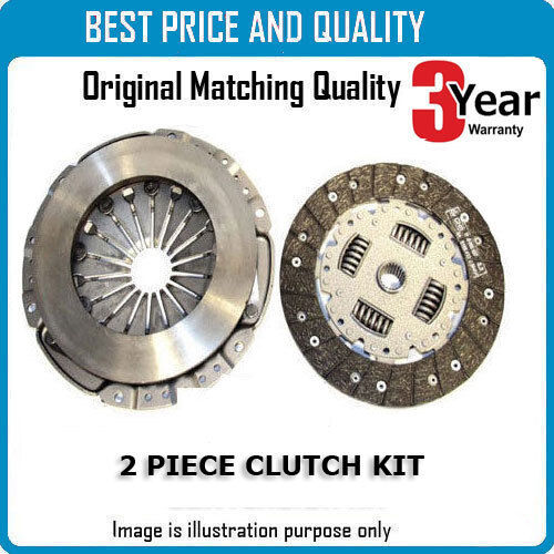 2 Piece Clutch Kit For Saab Ck9474 Oem Quality
