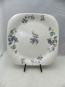 Pfaltzgraff Grapevine pattern - Square Serving Platter - made in USA - New