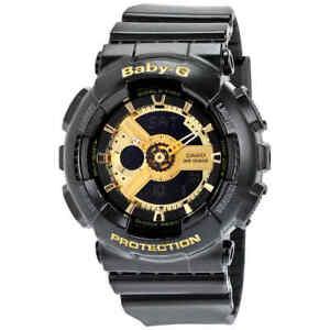 Casio-Baby-G-Black-Resin-Ladies-Watch-BA110-1A
