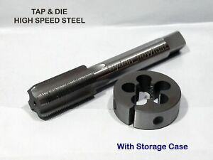 "3//4/"" X 24 TPI Tap and Die Set HSS Right Hand"
