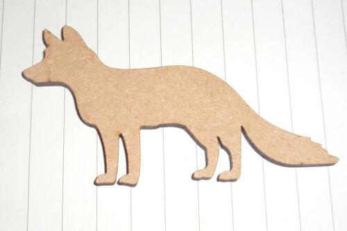 Wildlife forêt animal 3 mm MDF Découpe Design Artisanat À faire soi-même Lapin SQUIRELL Fox