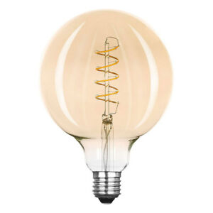 Led-Spirale-Filament-Source-D-039-Eclaraige-Globe-G125-2-5W-E27-or-Tres-Mince