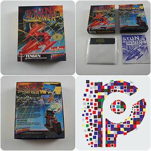 Stun-Runner-un-Domark-jeu-pour-le-Commodore-64-128-Disk-version-Tres-bon-etat