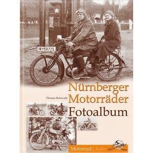 Nuernberger-Motorraeder-Fotoalbum-Motorrad-Oldtimer-Modelle-Typen-Bilder-Foto-Buch
