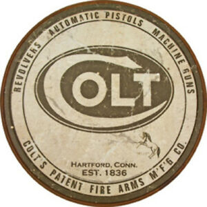 Details about Tin Signs Colt 1609 Nostalgic Emobssed Tin Sign  Reproduced  from authentic, vint