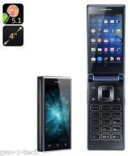 VKWorld T2 Android Dual Display Screen Flip Mobile Phone: Dual GSM Sim, 8Gb Rom