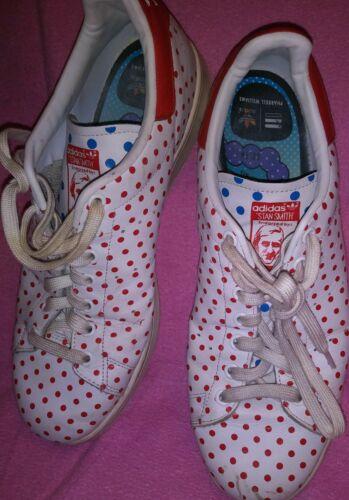 À Adidas Pois Pharell Homme Stan 5 Taille 11 Smith Williams Blanc qHrIHw