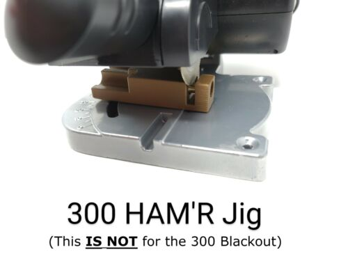 300 HAM'R Cut off Trimming Jig Auto-Ejecting Brass Case Trimmer