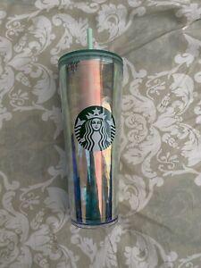 Starbucks Mermaid Iridescent Tumbler 2020 Venti 24oz Cold Cup