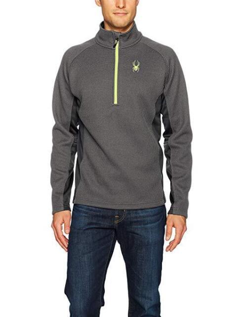 Spyder Mens Half-Zip Outbound Stryke Sweater Jacket
