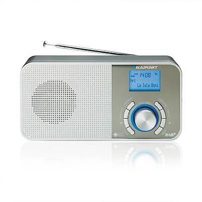 BLAUPUNKT RXD 50 Digitalradio DAB UKW RDS Wecker LCD Display Küchenradio Silber