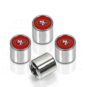 New Nfl San Francisco 49ers Car Truck Chrome Finish Tire