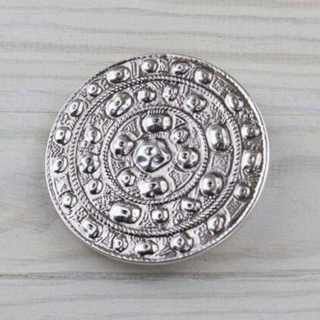 Blume Augen Wiesen Tracht Gürtelschnalle Silber Buckle Wechselschließe GS5123