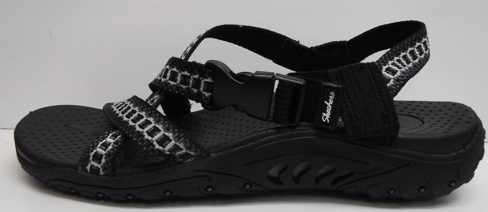 Skechers Size 10 Black Sandals New Womens shoes