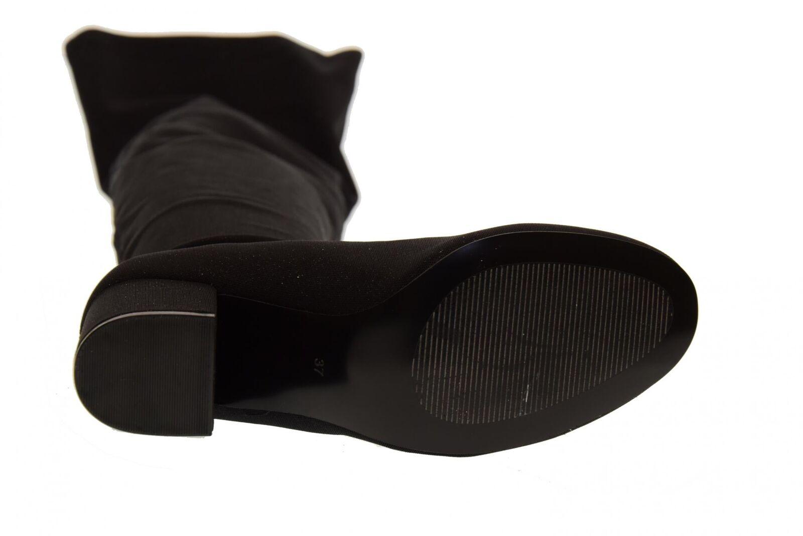 Gioseppo A18g Stiefel Damenschuhe hochelastischer knielanger Stiefel A18g 46485 mittlerer Abs 66fbe8