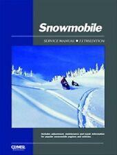 CLYMER SNOWMOBILE SERVICE MANUAL POLARIS COLT 175 250 1972 1973 1974 1976 77 78