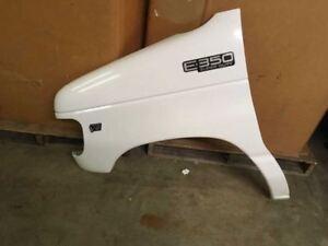 FO1092175 Molding For Ford E-150 // E-350 Econoline Club Wagon Bumper Trim 1997 98 99 00 01 2002 1C2Z17779AA Front Primed Stone Deflector