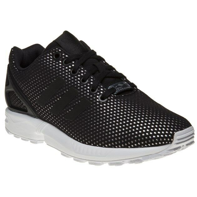 New New New Femme adidas noir Gold Zx Flux Nylon Trainers Prints Lace Up 188fa1