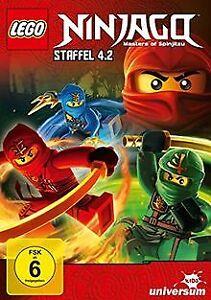 Lego-Ninjago-Staffel-4-2-von-Michael-Hegner-Justin-Murphy-DVD-Zustand-gut