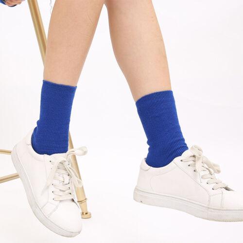 Women Men Casual Warm Cotton Wool High Sports Socks Design Fashion Dress Sock SY