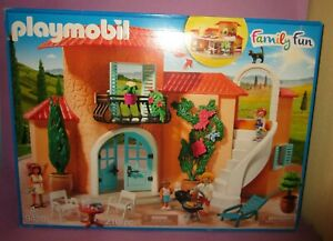 Playmobil-9420-Summer-Villa-Holiday-House-Family-Fun-New-Factory-Sealed
