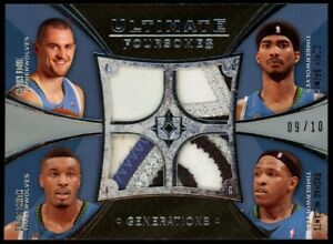 2008-09-Kevin-Love-Craig-Smith-Brewer-McCants-Ultimate-Patch-9-10-T-Wolves-RC