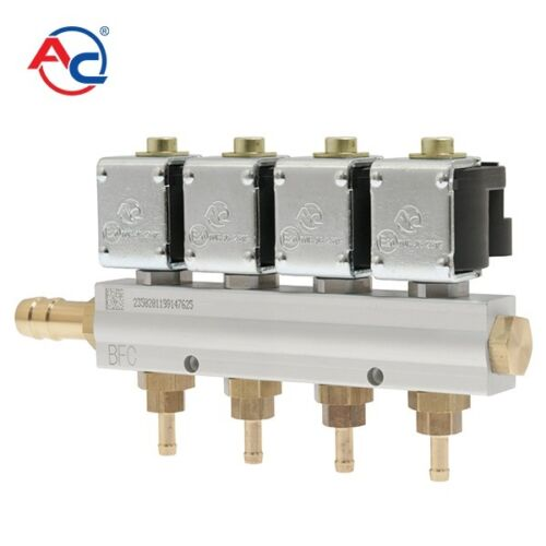 AC W01 STAG 4cyl LPG CNG Injectors Rail Replaces Valtek OMVL Top Durability
