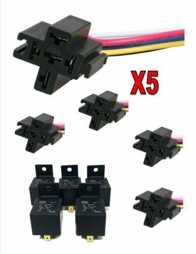 5x 12v 30  40 Amp 5