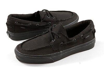 vans zapato del barco black