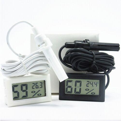 Digital Meter LCD Temperature Humidity Thermometer Hygrometer Room Indoor