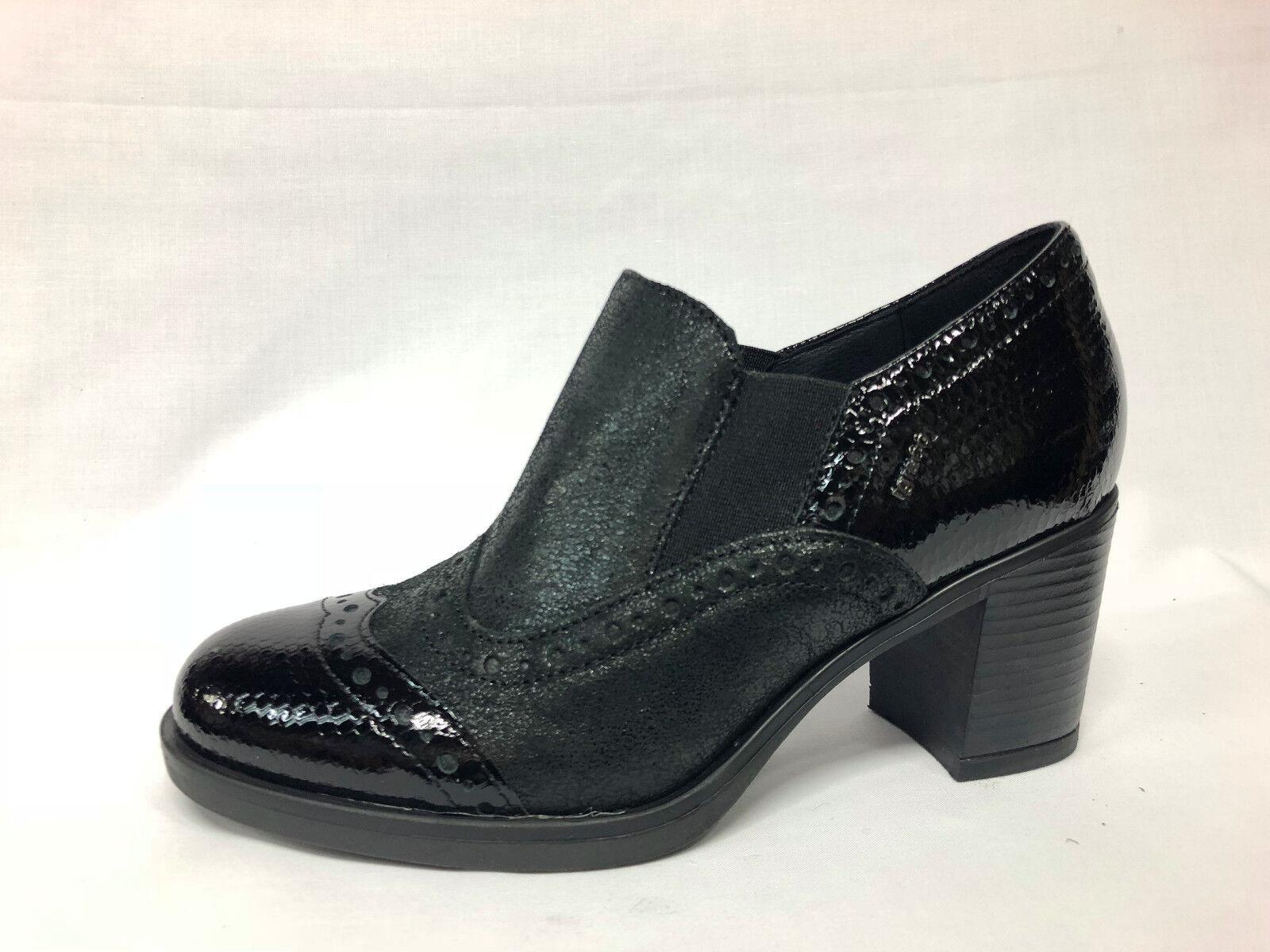 Scarpe accollate Igi&co 88441 00 pelle laminata e vernice nera nera nera list 89,90 -20% | Rifornimento Sufficiente  | Uomo/Donne Scarpa  ed8639