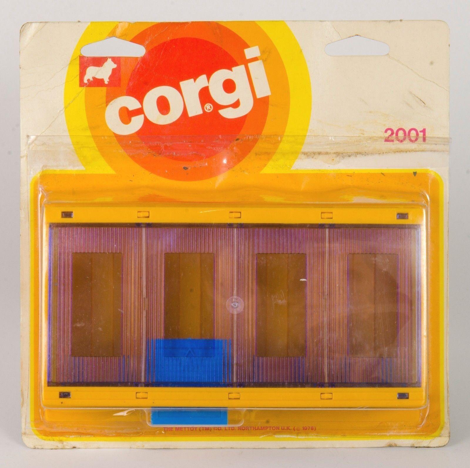 CORGI JUNIORS Nº 2001 Multi Garage. Nuovo di zecca in massa. RARE. ORIGINALE 1978
