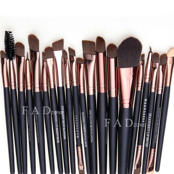 20pcs Makeup Brushes Set Foundation Eyeshadow Nose Mascara Lip Brush Makeup Tool