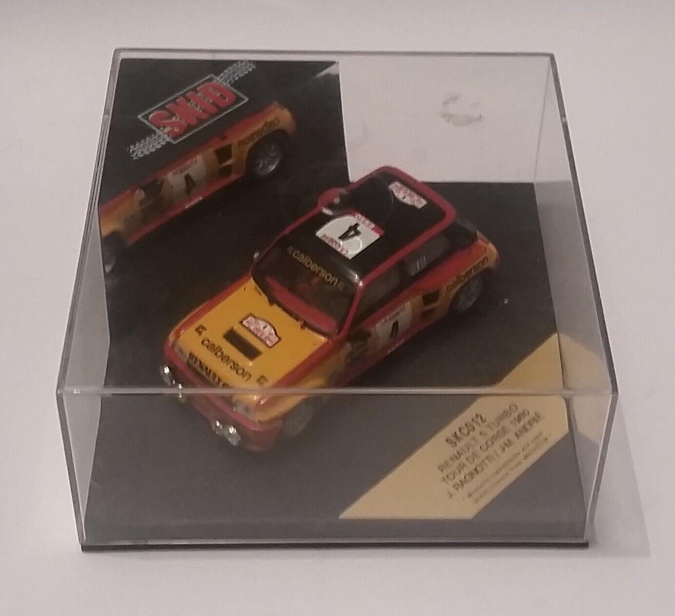 Vitesse Skid SKC012 1 43 Renault 5 5 5 Turbo Tour de Corse 1980 Mint in Box LE 3500 f36321