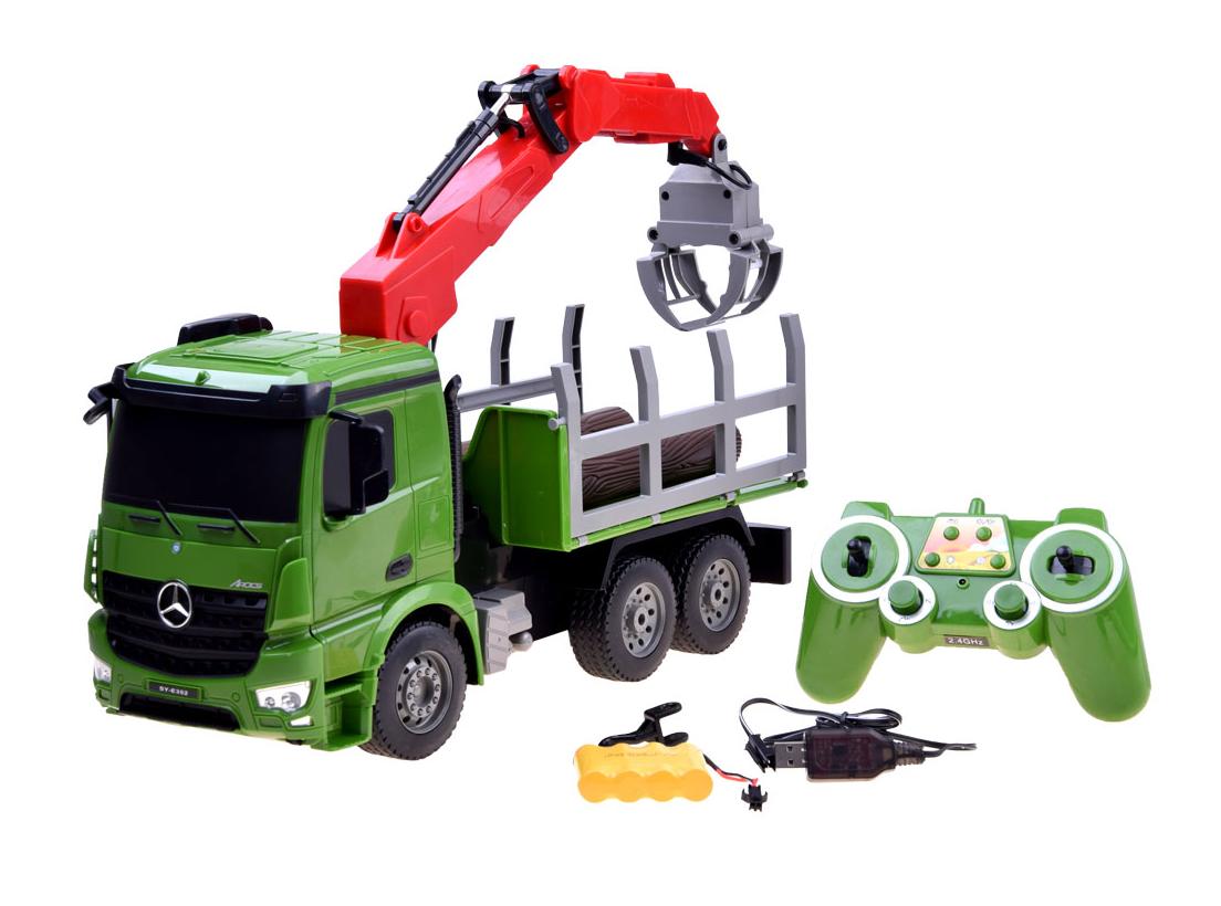 Schwerlastkran Mercedes - Benz Arocs 1:20 2,4Ghz Ferngesteuertes RC NEU OVP