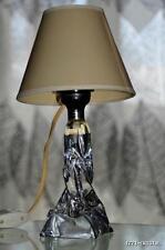 CROIX DE LORRAINE ‡ FRANCE ANCIEN LAMPE EN CRISTAL MASSIF signée