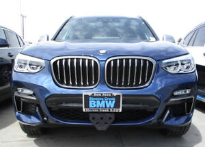 Details About 2018 2019 Bmw X3 M40i Removable Front License Plate Bracket Sto N Sho Sns149