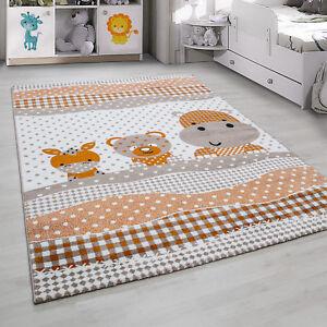 Kinderteppich Kurzflor Teddy Hund Bordüre Kinderzimmer Babyzimmer ...