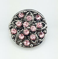 3D DIY Rhinestone Drill Snaps Chunk Charm Button Fit For  Leather Bracelets //1