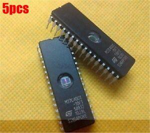 5-Stuecke-M27C4001-10F1-27C4001-St-Eprom-Uv-4Mbit-100Ns-32Cdip-am