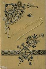 Aus der Heimat Naturwissenschaftliche Zeitschrift Jahrgang 1898 Vögel Insekt