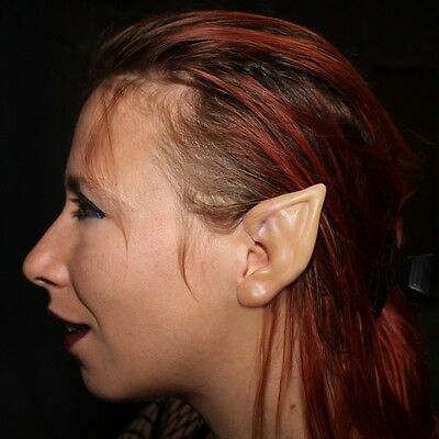 Elf Ear (Small) Latex Prosthetics for fancydress, LRP, LARP