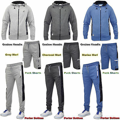 Mens Kangol Individually Priced Fleece Hoodie Bottom Short Collection