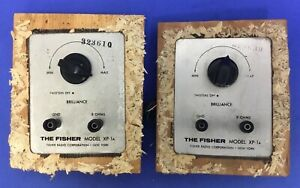 2-Vintage-Fisher-XP-1a-crossovers-1960-039-s-Handmade