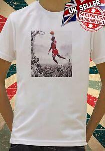 vente chaude en ligne e1ce0 1a373 Détails sur Michael Jordan Basketball NBA Drôle Cool Enfants Garçons Filles  Unisexe Top T-shirt 643- afficher le titre d'origine